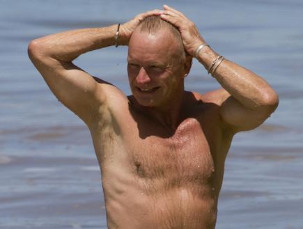 סטינג בגיל 60 (צילום: Splashnews)