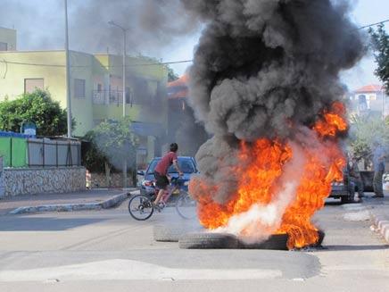 10 עצורים נוספים בטובא זנגריה (צילום: פוראת נסאר, חדשות 2)