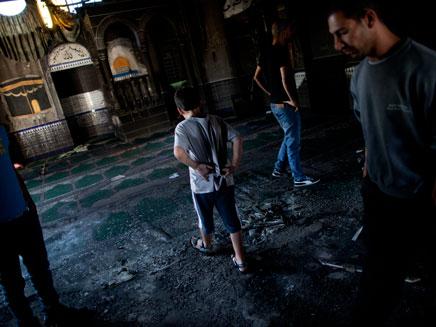 תג מחיר, שריפת מסגד, טובא זנגריה (צילום: חדשות 2)