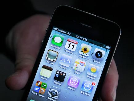 אייפון 4 (צילום: Chris Hondros, GettyImages IL)