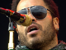 Lenny Kravitz (תמונת AVI: mako)