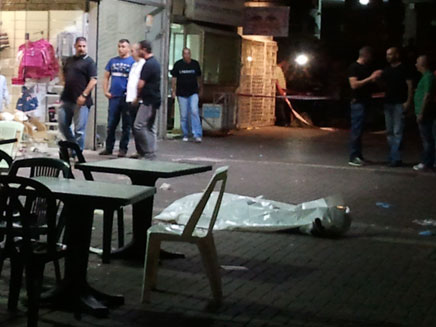 רצח בלב חולון (צילום: עזרי עמרם, חדשות 2)