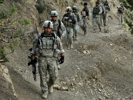 לוחמים אמריקאים באפגניסטן (צילום: צבא ארצות הברית)