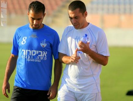 גיא לוי וסולימאן. יעברו להתאמן במרכז? (יניב גונן) (צילום: מערכת ONE)