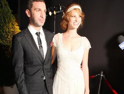 חתונה יובל שרף ושלומי שבן - תום אבני ולירז צ'רכי (צילום: ראובן שניידר)