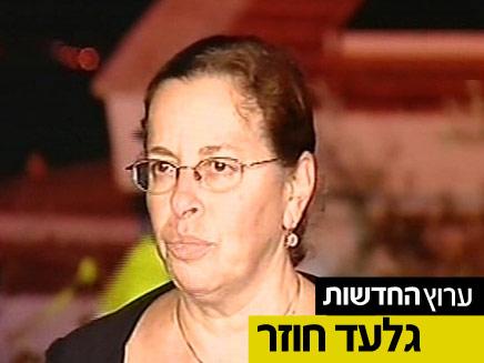 אביבה שליט, אמו של גלעד שליט - לקראת חזרתו (צילום: חדשות 2)