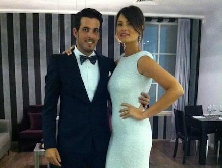 ורה ליכטס ואסף צברי חתונה (צילום: mako)