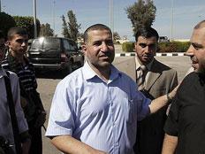 """""""איש הצללים"""" של החמאס נחשף (צילום: חדשות 2)"""