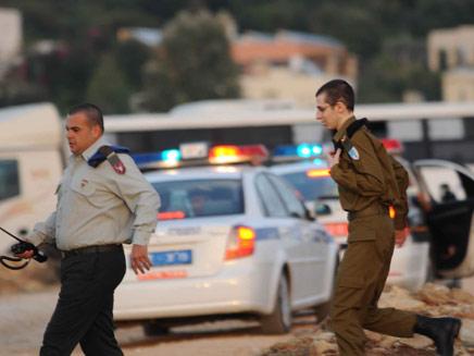 צועד בדרך הביתה (צילום: משטרת ישראל)