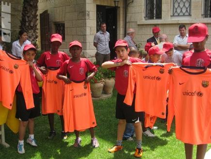 'ליגת השכונות'. הפרויקט מגשים לילדים חלום (צילום: מערכת ONE)