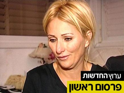 """האם, אהובה אלפרון. """"עוד מעצר שווא"""" (צילום: חדשות 2)"""