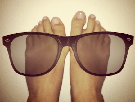 פרוייקט כפות רגליים של ענבל יונה לוי (צילום: ענבל יונה לוי)