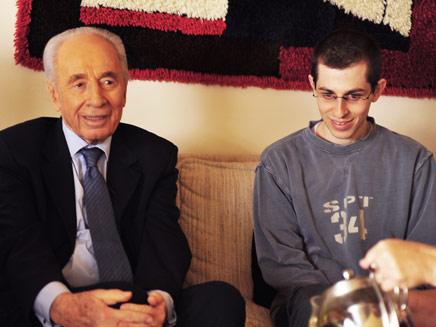 שליט ונשיא המדינה שמעון פרס (צילום: זיו ביניונסקי)