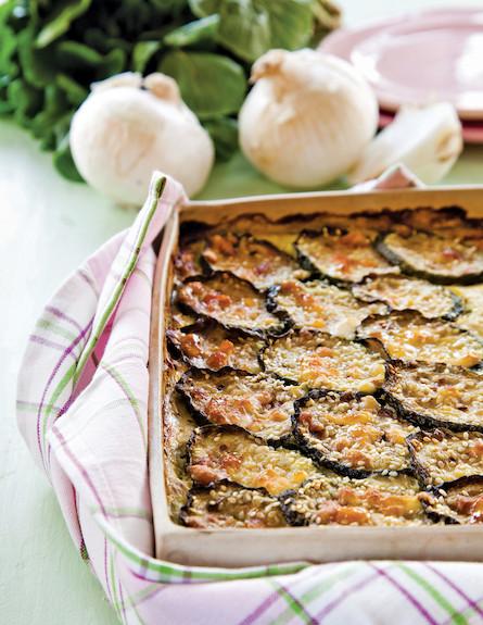 מאפה קישואים אוורירי -דיאטה שמחה (צילום: דניאל לילה)