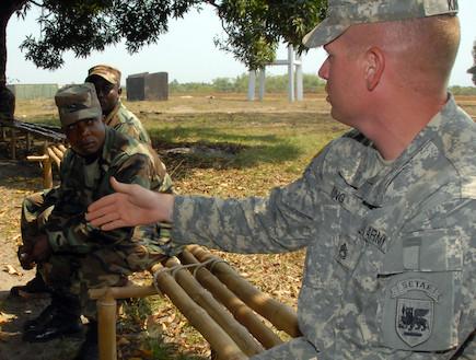 """כוחות ארה""""ב באפריקה (צילום: צבא ארצות הברית)"""