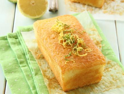 עוגת לימון עסיסית (צילום: חן שוקרון, אוכל טוב)