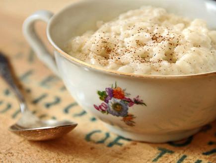 אורז בחלב וקינמון (צילום: גל, פתיתים)