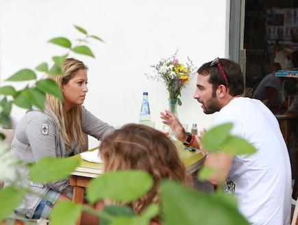 ליהיא גרינר ועמיר גולדברג בלה שוק (צילום: איל מרילוס)