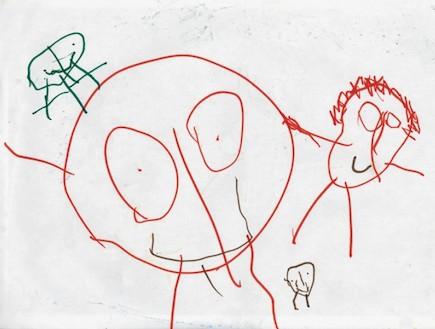פענוח ציורי ילדים - התעללות (צילום: תומר ושחר צלמים)