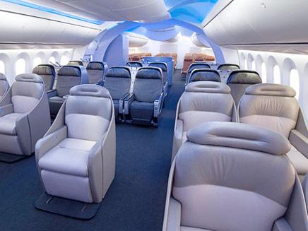 פינוק אמיתי לנוסעים (צילום: אתר בואינג)
