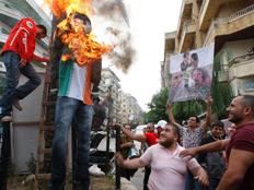דיווח: שמונה מההרוגים - עריקי הצבא (צילום: AP)