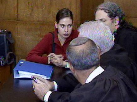 ענת קם, הבוקר בבית המשפט (צילום: חדשות 2)