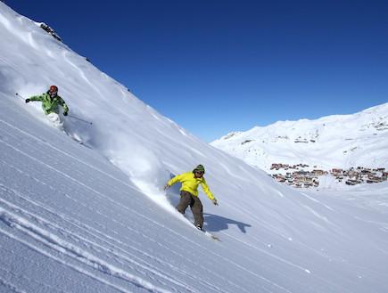 ואלטורנס, אתרי סקי (צילום: האתר הרשמי)