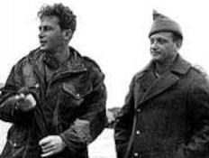 יצחק רבין ויגאל אלון (צילום: ויקיפדיה)