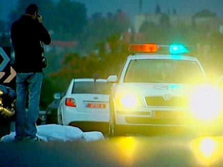 מקום התאונה, הבוקר (צילום: חדשות 2)