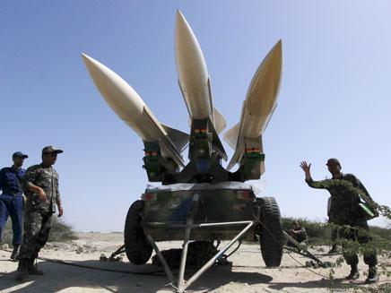 נשק אירני בדרך לסוריה (צילום: AP)