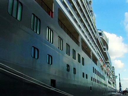 הספינה אליזבת (צילום: חדשות 2)