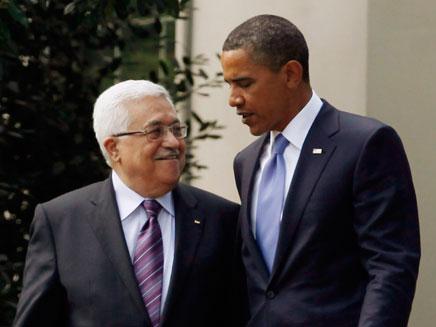 לחץ כבד בנושא הפלסטיני? אובמה ואבו מאזן (צילום: רויטרס)