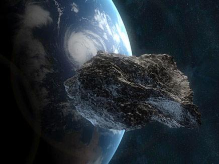 האסטרואיד בדרך אלינו. עיבוד תמונה (צילום: סקיי ניוז)