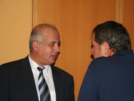 אלי גוטמן ואבי לוזון  (צילום: מערכת ONE)