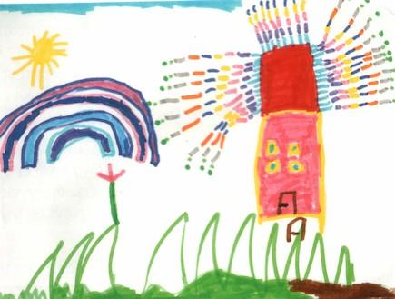 פענוח ציורי ילדים - כיתה א כללי (צילום: תומר ושחר צלמים)