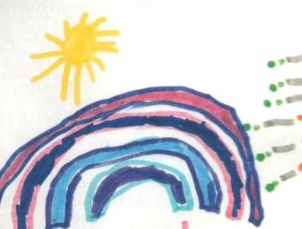 פענוח ציורי ילדים - כיתה א קשת (צילום: תומר ושחר צלמים)
