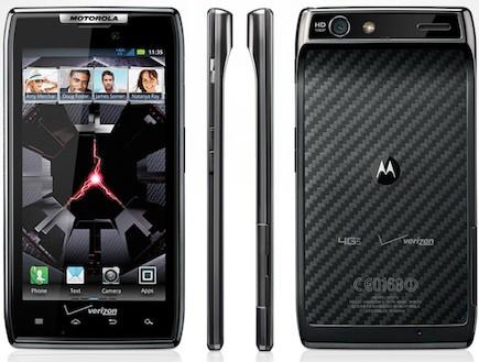 Motorola Droid Razr (צילום: אתר רשמי,  יחסי ציבור )