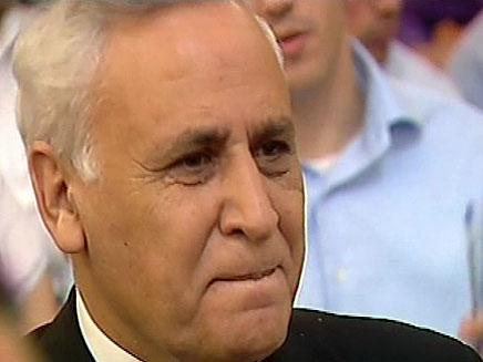משה קצב (צילום: חדשות 2)