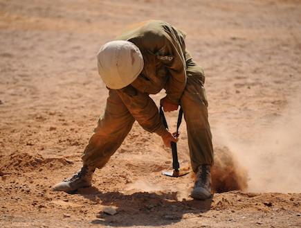 """גיבוש יהל""""ם (צילום: נועה אדר, עיתון """"במחנה"""")"""
