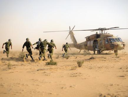 השתלמות מפקדי יבשה (צילום: באדיבות גרעיני החיילים)