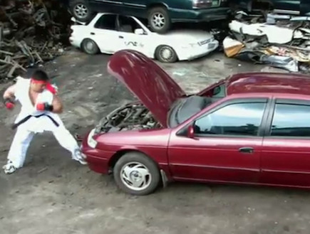 סטריט פייטר הורס מכונית