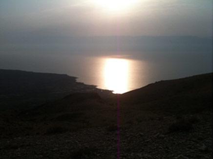 ים המלח. יזכה בתחרות? (צילום: דניאל נחמיה, חדשות 2)