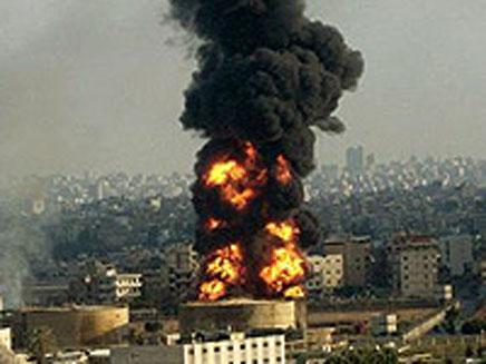 פיצוץ במחסן תחמושת באירן (צילום: חדשות 2)