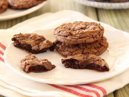 עוגיות שוקולד שוקולד צ'יפס 1 (צילום: חן שוקרון, אוכל טוב)