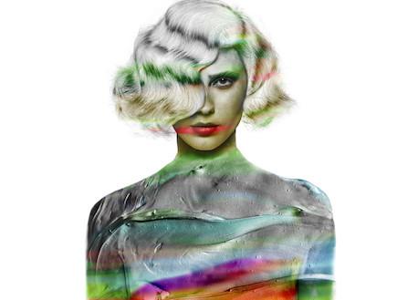 """אמילי קרפל צבעונית (צילום: דודי חסון למגזין """"Bellemode"""")"""