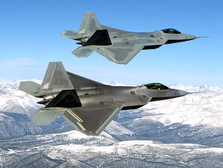 F-22 ראפטור (צילום: ויקיפדיה)