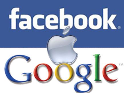 פייסבוק, אפל, גוגל (צילום: אילוסטרציה - ארכיון)