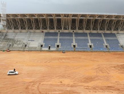 האצטדיון החדש בפתח תקווה (מור שאולי) (צילום: מערכת ONE)