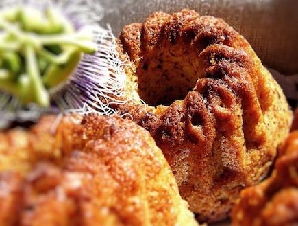 עוגת דבש ופסיפלורה 2