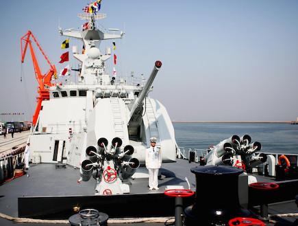 חיל הים הסיני (צילום: Guang Niu, GettyImages IL)
